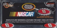 Dale Earnhardt Jr. NASCAR Chrome License Frame
