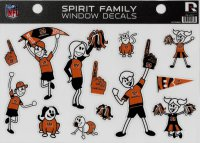 Cincinnati Bengals Family Spirit Decal Set