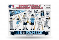 Tampa Bay Rays Family Decal Set