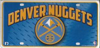 Denver Nuggets License Plate