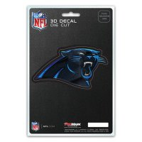 Carolina Panthers Die Cut 3D Decal