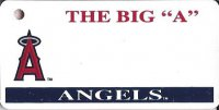 Anaheim Angels MLB Key Chain