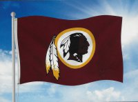 Washington Redskins Banner Flag