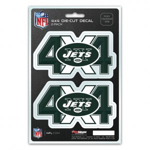 New York Jets 4x4 Decal Pack