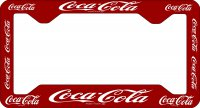 Coca Cola License Plate Frame
