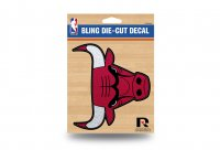 Chicago Bulls Glitter Die Cut Vinyl Decal