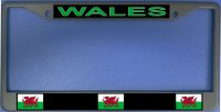 Wales Flag Photo License Plate Frame