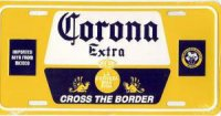 Corona Imported Beer License Plate