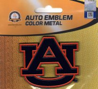 Auburn Tigers 3-D Color Metal Auto Emblem