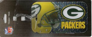 Green Bay Packers Team Luggage Tag