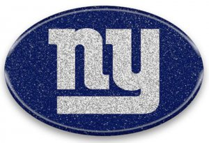 New York Giants Color Bling Emblem