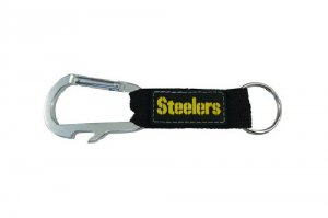 Pittsburgh Steelers Carabiner Key Chain