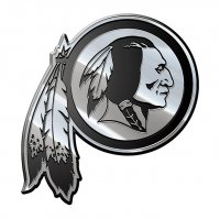 Washington Redskins NFL Metal Auto Emblem