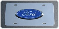 Ford 3-D Official Licensed License Plate