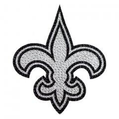 NEW Orleans Saints Diamond Bling Auto Emblem