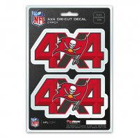 Tampa Bay Buccaneers 4x4 Decal Pack