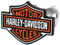 Harley-Davidson Color Logo Hitch Cover