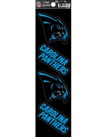 Carolina Panthers Quad Decal Set