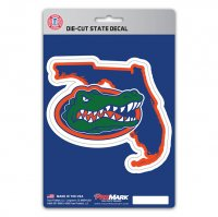 Florida Gators Die Cut State Decal