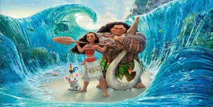 Moana And Maui Photo License Plate