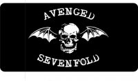 Avenged Sevenfold License Plate