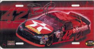 Jamie McMurray #42 NASCAR License Plate
