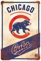 Chicago Cubs Retro Parking Sign