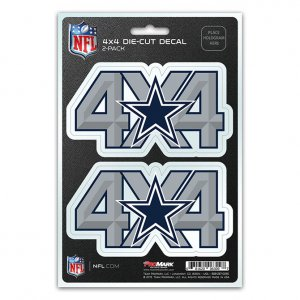 Dallas Cowboys 4x4 Decal Pack