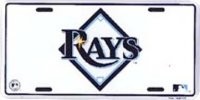 "Tampa Bay ""Rays"" License Plate"