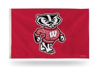 Wisconsin Badgers Banner Flag