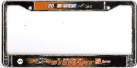 Tony Stewart #20 License Plate Frame