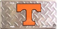 Tennessee Vols College License Plate