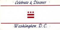 Design It Yourself Custom Washington DC State Look-Alike Plate#3