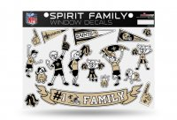 New Orleans Saints Family Decal Set