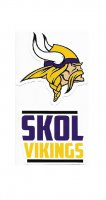 Minnesota Vikings Double Up Die Cut Vinyl Stickers