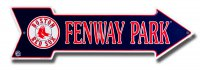 Fenway Park Boston Red Sox Metal Arrow Street Sign