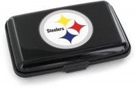 Pittsburgh Steelers Black Aluminum Wallet