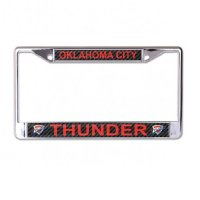 Oklahoma City Thunder Carbon Fiber Design Chrome Frame
