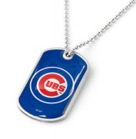 Chicago Cubs Domed Dog Tag