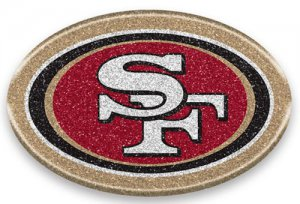 San Francisco 49ers Color Bling Emblem