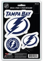 Tampa Bay Lightning Team Decal Set