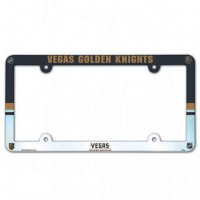 Las Vegas Golden Knights Full Color Plastic License Plate Frame