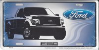 Ford F150 Metal License Plate