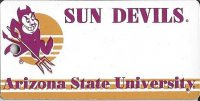 Arizona State NCAA Key Chain