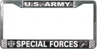 U.S. Army Special Forces License Plate Frame