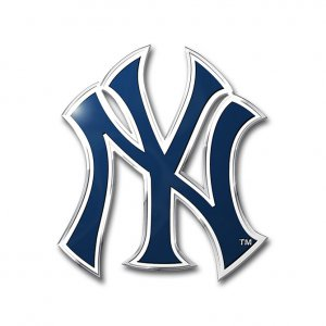 NEW York Yankees Full Color Auto Emblem