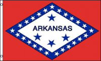 Arkansas Polyester Banner Flag