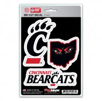 Cincinnati Bearcats Team Decal Set