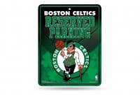 Boston Celtics Metal Reserved Parking Sign
