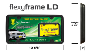Flexyframe Light Duty Front Bumper Guard